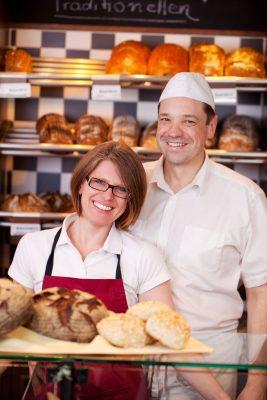 Anja und Karl-Heinz Heinen aus der Bäckerei Heinen in Nettersheim Marmagen